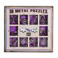 10 Metal Puzzle Purple, Hanayama, Puzzle, logičke puzzle, mozgalice, žičane puzzle, glavolomke