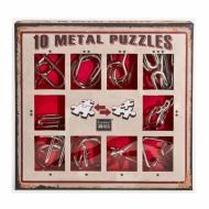 10 Metal Puzzle Red, Hanayama, Puzzle, logičke puzzle, mozgalice, žičane puzzle, glavolomke