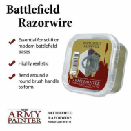 Battlefield Razorwire, Basing, tuft, baze, minijature, izrada terena, tereni, izrada baza, pravljenje diorama, diorama delovi.