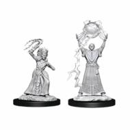 D&D Nolzur's Marvelous Miniatures Drow Mage & Drow Priestess, figurice