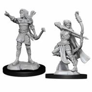 D&D Nolzur's Marvelous Miniatures Elf Female Ranger WZK90143, FRP, Društvene igre, figurice, minijature, boje za figure, Fantasy role play