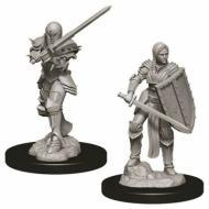 D&D Nolzur's Marvelous Miniatures Female Human Fighter WZK73705, FRP, Društvene igre, figurice, minijature, boje za figure, Fantasy role play