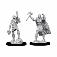 D&D Nolzur's Marvelous Miniatures Human Female Barbarian, figurice