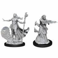 D&D Nolzur's Marvelous Miniatures Human Female Wizard WZK90012, FRP, Društvene igre, figurice, minijature, boje za figure, Fantasy role play