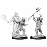 D&D Nolzur's Marvelous Miniatures Human Male Barbarian, Neobojena
