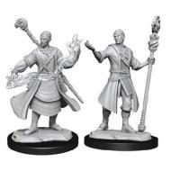 D&D Nolzur's Mini Half-Elf Male Wizard