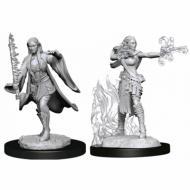 D&D Nolzur's Marvelous Miniatures Multiclass Female Warlock & Sorcerer, drustvene igre, drustvena igra, D&D, figure, minijature, miniji, figurice, dungeons and dragons, drustvene igre prodaja, neobojena