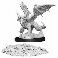Društvene igre, figurice, minijature, boje za figure, D&D Nolzur's marvelous miniatures - Blue Dragon Wyrmling