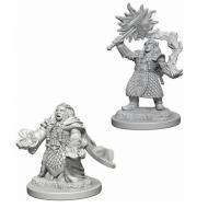 Društvene igre, figurice, minijature, boje za figure, D&D Nolzur's marvelous miniatures - Female Dwarf Cleric