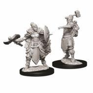 D&D Nolzur's marvelous miniatures - Female Half-orc Barbarian, figure, minijature, dungeons and dragons
