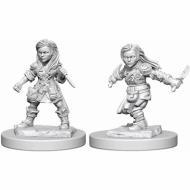Društvene igre, figurice, minijature, boje za figure, D&D Nolzur's marvelous miniatures - Female Halfling Rogue