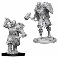 Društvene igre, figurice, minijature, boje za figure, D&D Nolzur's marvelous miniatures - Male Goliath Fighter