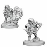 Društvene igre, figurice, minijature, boje za figure, D&D Nolzur's marvelous miniatures - Male Halfling Rogue