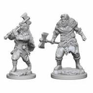 Društvene igre, figurice, minijature, boje za figure, D&D Nolzur's marvelous miniatures - Human Male Barbarian