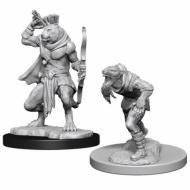 D&D Nolzur's marvelous miniatures - Wererat & Weretiger, D&D, figure, minijature, miniji, figurice, dungeons and dragons