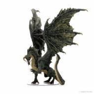 DD5 Icons Adult Black Dragon Premium Figure , drustvene igre, drustvena igra, D&D, figure, minijature, miniji, figurice, dungeons and dragons, drustvene igre prodaja, neobojena