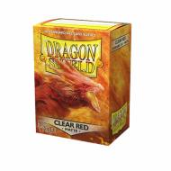 Dragon Shield Standard Clear Red Matte