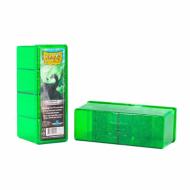 Dragon Shield Four Compartment Storage Box Emerald, Deck Box