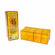 Dragon Shield Four Compartment Storage Box Prozirno Zuta, Deck Box