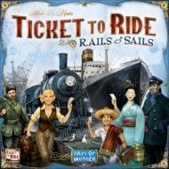 Drustvena igra Ticket to Ride Rails and sails