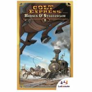 Drustvena igra, board game Colt Express - Horses and Stagecoach