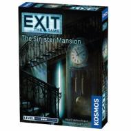 Exit: The Sinister Mansion, escape room, party game, zabava, misterija, zagonetke