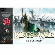 Kings of War - Elf Army, board game, strategija, minijature, ratna igra