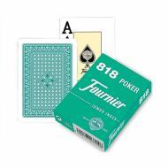 Fournier Nº 818 Green, karte za poker, karte za igranje, poker, beograd, playing cards