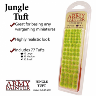 Jungle Tuft, Basing, tuft, baze, minijature, izrada terena, tereni, izrada baza, flock