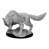D&D Nolzur's Mini Winter Wolf, minijatura, figurica