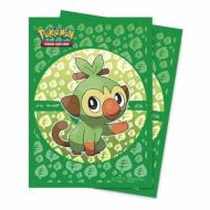 Ultra Pro Pokémon Sword & Shield Galar Starters Grookey Deck Protector 65ct (zaštite za karte), zastita za karte, naličje