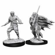 Društvene igre, figurice, minijature, boje za figure, Pathfinder: D-cut Male Elf Rogue Minis