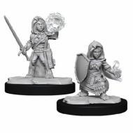 Pathfinder Deepcuts Female Halfling Cleric