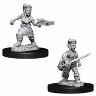 Pathfinder Deepcuts Halfling Female Rogue , drustvene igre, drustvena igra, D&D, figure, minijature, miniji, figurice, dungeons and dragons, drustvene igre prodaja, neobojena