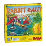 edukativna igra rabbit rally, haba, kutija