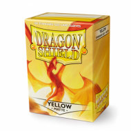 Dragon Shields Yellow matte, kutija
