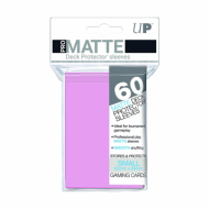 Slivovi Pro Matte Deck Protector Sleeves Pink pakovanje