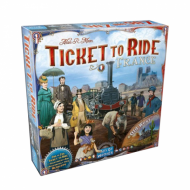 Drustvena igra Ticket to Ride Map Collection France and Old West, kutija
