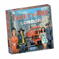 Drustvena igra Ticket to Ride London, kutija
