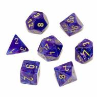 Chessex Lustrous Purple with Gold kockice za Dungeons & Dragons