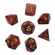 Chessex Glitter Ruby with Gold kockice za Dungeons & Dragons