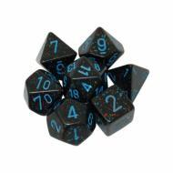 Chessex Blue Stars 7 die set kockica, društvena igra, porodična igra, poklon, board game, dečija igra, rođendan, pametan poklon