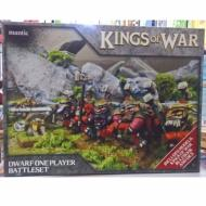 Kings of War - Dwarf One Player Battleset, minijature, ratna igra, strategija