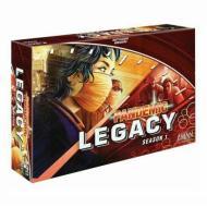 Društvena igra Pandemic Legacy Season 1 Red Edition, kooperativne igre, igre na tabli, društvene igre, strateške igre, porodične igre