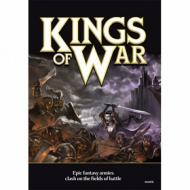 Kings of War - Rulebook (hardcover), pravila igre, ratna igra, minijature