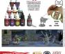 Nolzurs Marvelous Pigments Underdark Paint Set, farbanje minijatura, hobi, wargames, Hobby Set za farbanje figurica i modela