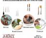 Army Painter Mega Brush Set , tereni za minijature, hobby , minijature, borba , wargaming