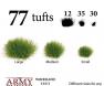 Woodland Tuft veličine Basing, tereni za minijature, hobby , minijature, borba , wargaming