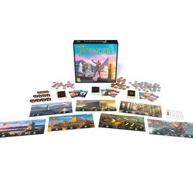 Društvena igra 7 Wonders 2nd edition sadržaj igre