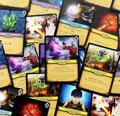 Društvena igra Aeon's End Legacy karte iz igre